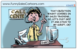 Customer_Service_Training_Cross_Selling_Call_Center_Cartoon