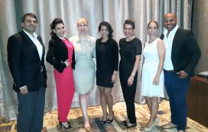 Victoria and the Quintessentially team (from left to right: Rene Estripeaut, Mileidy Castillo, Victoria Macdonald, Enoly Rodríguez, Verónica Pérez, Julia Ortega, Alfredo Smith)